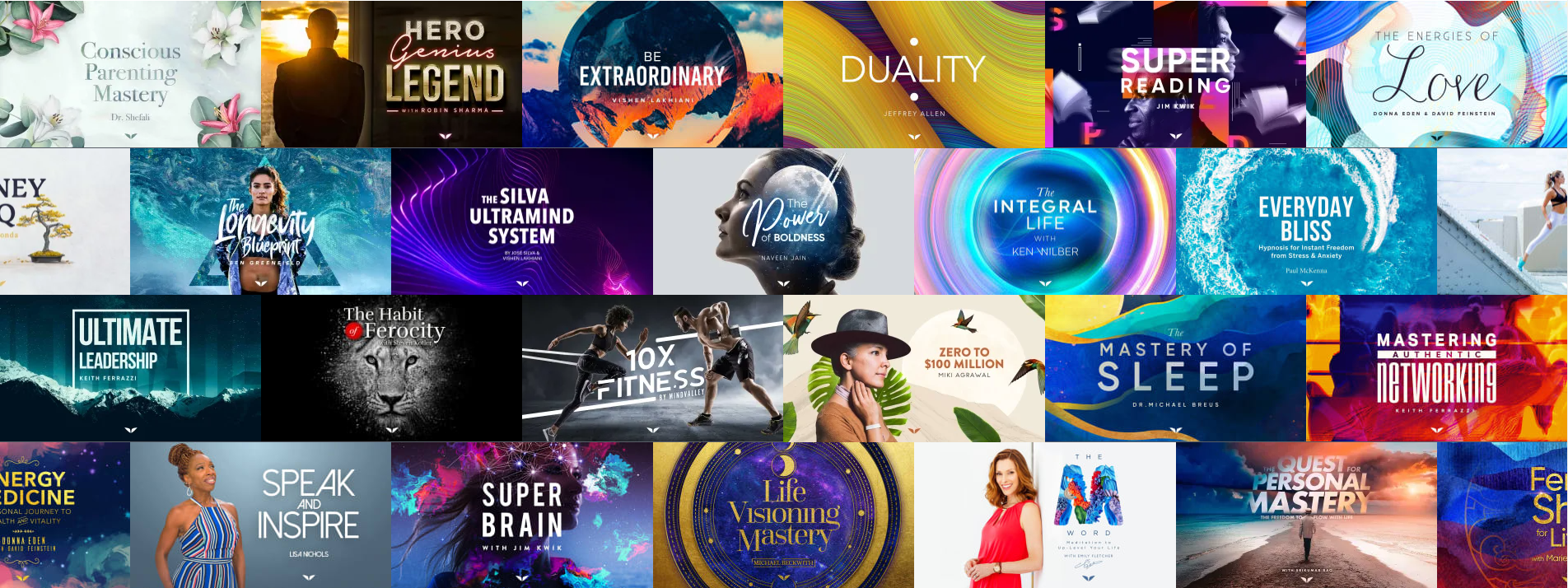 Mindvalley Course Collection