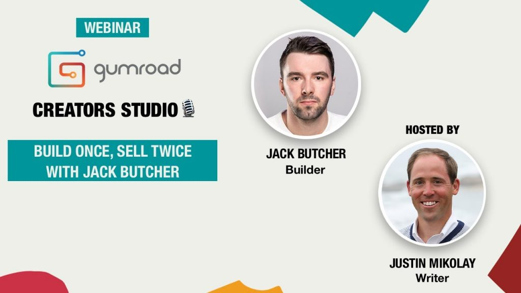 Jack Butcher - Build Once Sell Twice