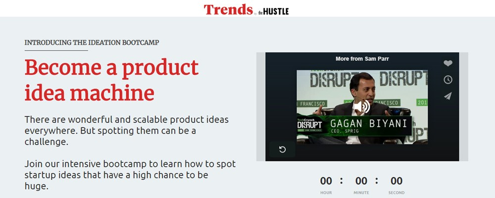 The Hustle – Ideation Bootcamp 2020