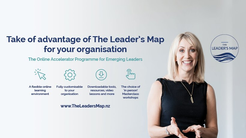 The Leader's Map by Suzi McAlpine
