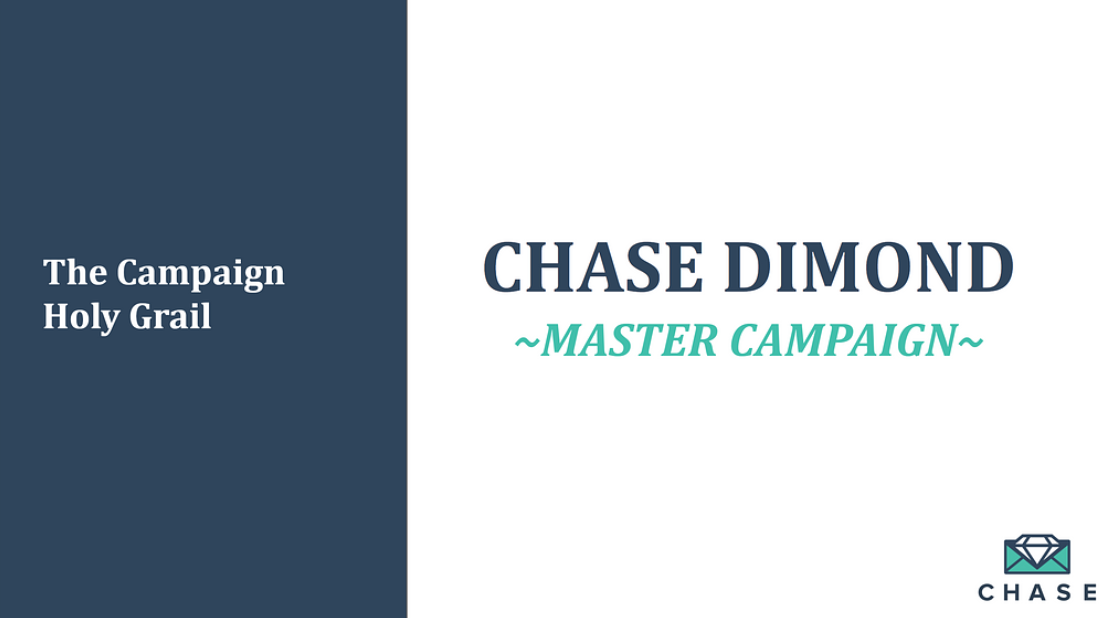 Master Campaign Calendar Guide by Chase Dimond